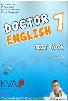 Koray Varol Akademi KVA 7.Sınıf Doctor Englısh Test Book