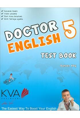 Koray Varol Akademi KVA 5.Sınıf Doctor Englısh Test Book