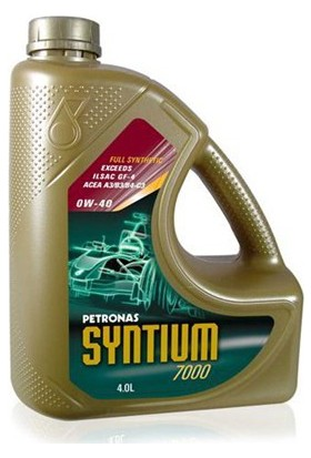 Petronas Syntium 7000 XS 0W/40 4Lt Motor Yağı
