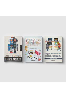 Çocuklar İçin Scratch Ve Kodlama Eğitim Seti (3 Kitap) - Musa Sadık Ünal - Mustafa Murat Coşkun - Akın Akçaoğlu