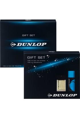 Dunlop Klasik Mavi Edt 100 Ml Erkek Parfüm + 150 ml Erkek Deodorant Set