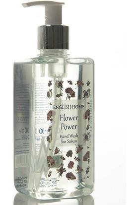 English Home Flower Power Sivi Sabun 300 Ml Yeşil
