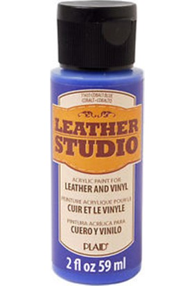 Plaid Leather Studio Deri Boyası 59Ml - Kobalt Mavi