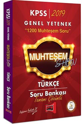 Yargı Yayınevi 2019 KPSS Muhteşem Show Türkçe Tamamı Çözümlü Soru Bankası