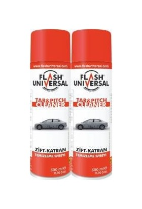2Li Set Flash Universal Zift Katran Temizleme Sprey 500Ml