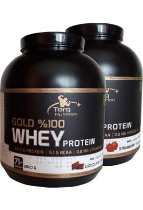 Torq Nutrition - Gold Whey 2500 Gr. Protein Tozu