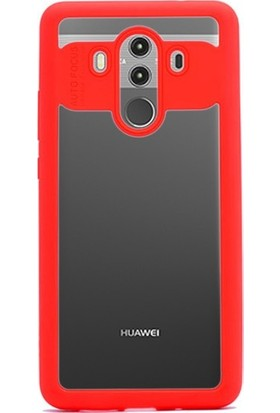Kılıfist Huawei Mate 10 Pro Kılıf Bumper Buttom Silikon ve Plastik Kılıf + Cam