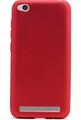 Kılıfist Xiaomi Mi 5A Kılıf Premier Mat Silikon Kılıf + Temperli Cam
