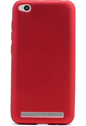 Kılıfist Xiaomi Redmi 5A Kılıf Premier Mat Silikon Kılıf + Esnek Nano Cam