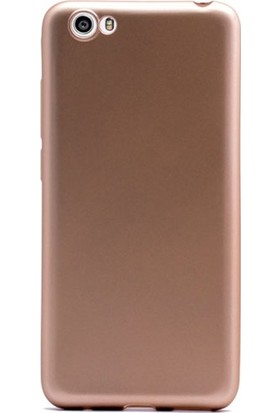 Kılıfist Vestel Venüs E3 Kılıf Premier Mat Silikon Kılıf + Temperli Cam