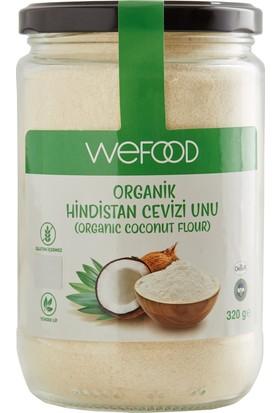 Organik Orser Sertifikalı Hindistan Cevizi Unu Wefood 320 gr