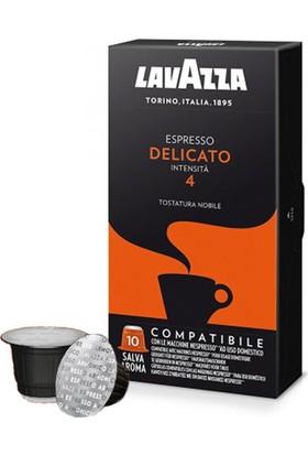 Lavazza Espresso Delicato Nespresso Uyumlu Kapsül Kahve 10 Lu