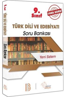 Benim Hocam Yayınları 9. Sınıf Türk Dili ve Edebiyatı 1000 Soru Bankası