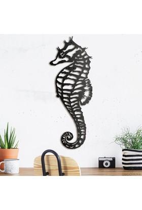 Decovana Seahorse Metal Duvar Dekoru