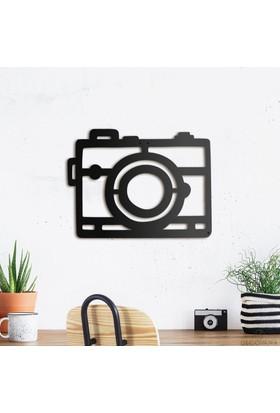 Decovana Camera Metal Duvar Dekoru