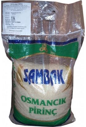 Trakya Bakliyat Sambak Osmancık Pirinç 5 kg