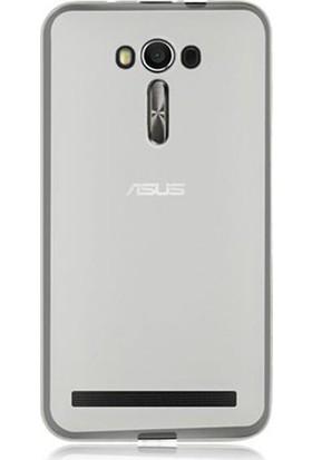 Ehr. Asus Zenfone 2 Laser Ultra İnce Ultra Lüx Soft Şeffaf Silikon Kılıf