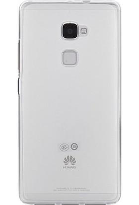 Ehr. Huawei Mate S Ultra İnce Ultra Lüx Soft Şeffaf Silikon Kılıf + Ekran Koruyucu Cam
