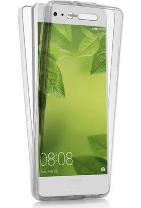 Ehr. Huawei P10 Lite Ultra Lüx Ön Arka Full Koruma 360 Clear Şeffaf Kılıf