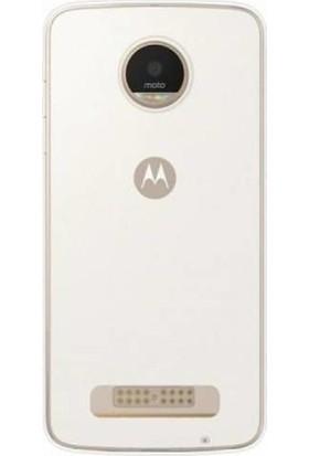 Ehr. Lenova Moto Z2 Play Ultra İnce Ultra Lüx Soft Şeffaf Silikon Kılıf + Ekran Koruyucu Cam