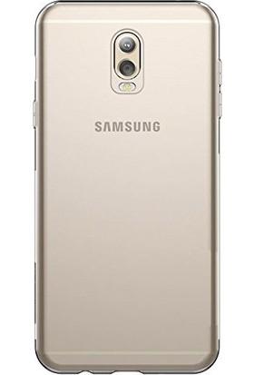 Ehr. Samsung Galaxy C8 Ultra İnce Ultra Lüx Soft Şeffaf Silikon Kılıf
