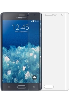 Ehr. Samsung Galaxy Note Edge 3D Full Kaplama Ultra Lüx Ekran Koruyucu Cam