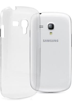 Ehr. Samsung Galaxy S3 Mini Ultra İnce Ultra Lüx Soft Şeffaf Silikon Kılıf