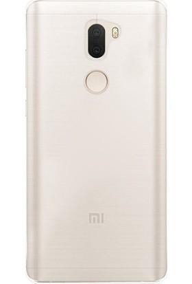 Ehr. Xiaomi Mi 5S Plus Ultra İnce Ultra Lüx Soft Şeffaf Silikon Kılıf + Ekran Koruyucu Cam