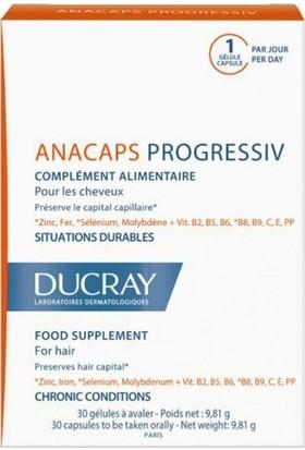 Ducray Anacaps Progressiv 30 Kapsül