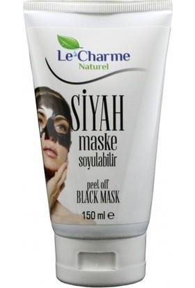 Le Charme Naturel Siyah Maske