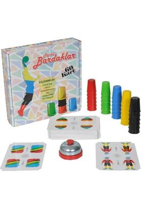 Pratik Renkli Bardaklar Akıl Zeka Oyunu