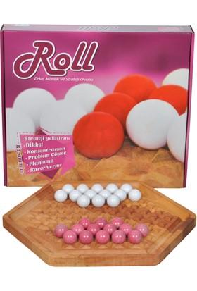 Abalone Roll Ahşap Akıl ve Zeka Strateji Oyunu