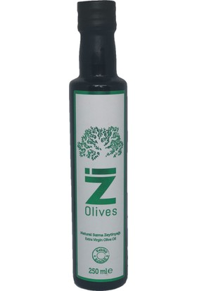 İZ Olives Doğal Dağ Kekikli Zeytinyağı 250 ml