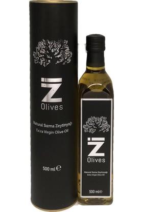 İZ Olives Soğuk Sıkım Naturel Sızma Zeytinyağı 500 ml