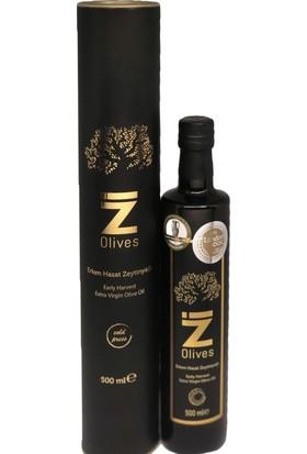 İZ Olives Soğuk Sıkım Erken Hasat Zeytinyağı 500 ml