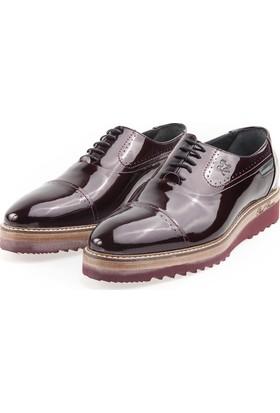 Paul Branco 65575 Erkek Bordo-Rugan Ayakkabı