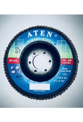 Aten 115*22 Flap Disk Zımpara