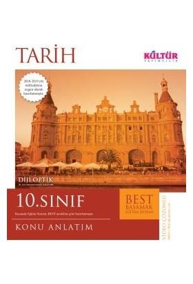 Kültür Yayınları Best 10. Sınıf Tarih Konu Anlatım