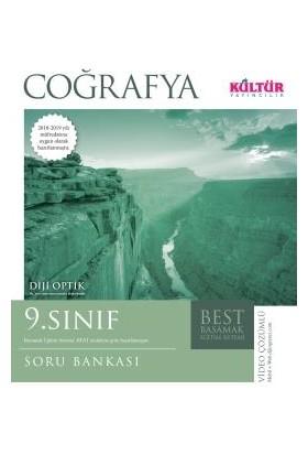 Kültür Yayınları Best 9. Sınıf Coğrafya Soru Bankası