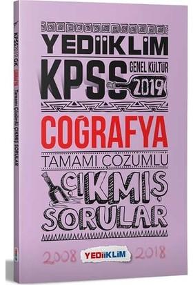 Yediiklim Yayınları 2019 KPSS Coğrafya Tamamı Çözümlü Çıkmış Sorular
