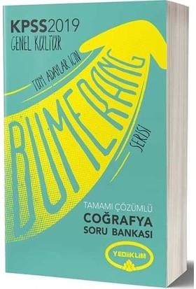 Yediiklim Yayınları 2019 KPSS Bumerang Coğrafya Tamamı Çözümlü Soru Bankası