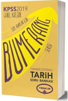 Yediiklim Yayınları 2019 KPSS Bumerang Tarih Tamamı Çözümlü Soru Bankası