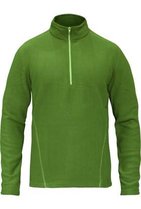 Sivugin Outdoor Polar Sweatshirt Üst Erkek - Yeşil