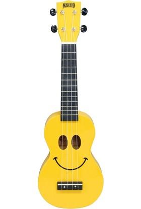 Mahalo U/SMILE Soprano Ukulele - Sarı
