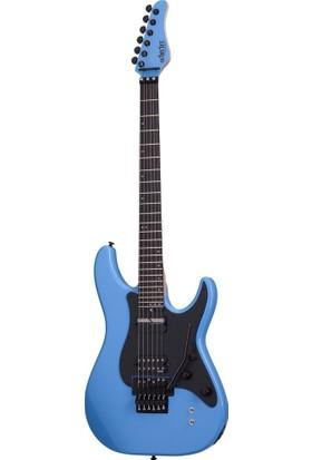 Schecter Sun Valley Super Shredder FR Sustaniac Elektro Gitar - Riviera Blue