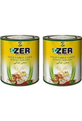 Zer Margarin 3 lt x 2 Teneke Kutu