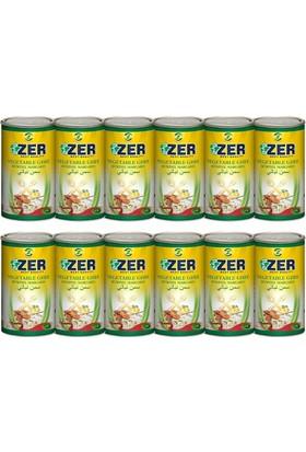 Zer Margarin 1 lt x 12 Teneke Kutu
