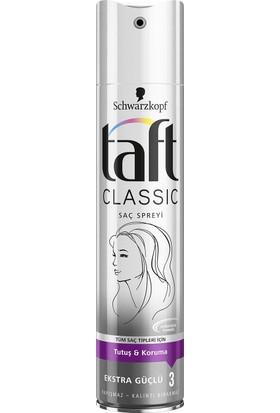 Taft Classic Ekstra Güçlü Sprey 250 ml