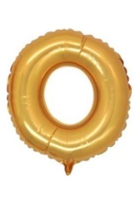 Miray Süs Folyo Balon Harf O Altın 40 İnc 1 Adet