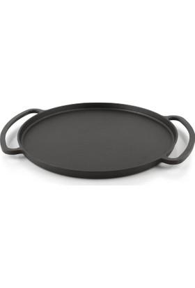 Silver Döküm 28 Cm Pizza Krep Ve Pankek Tavası - Siyah